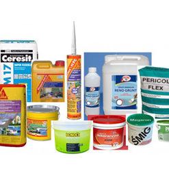 Akryle, silikony, kleje i uszczelniacze